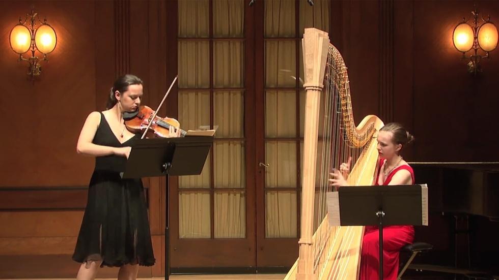 Student Recital: Saint-Saens, Crumb, Brahms image