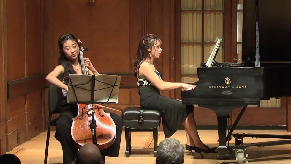 Student Recital: Godefroid, Bach, Marescotti, Fauré,  image
