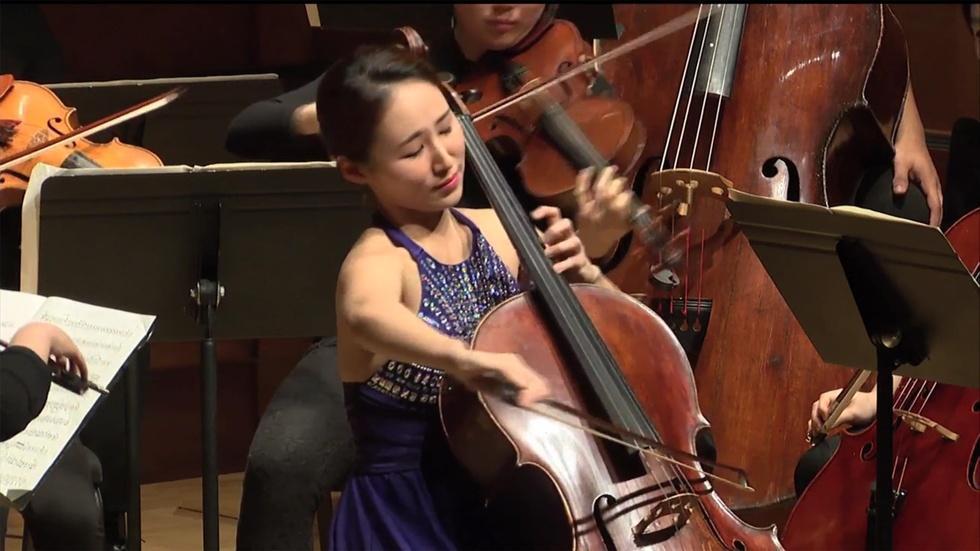 Cellist Youna Choi Graduation Recital image