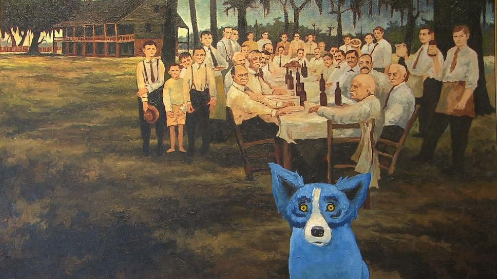 Artworks: Dance, Ken Burns, Millay Colony, George Rodrigue image
