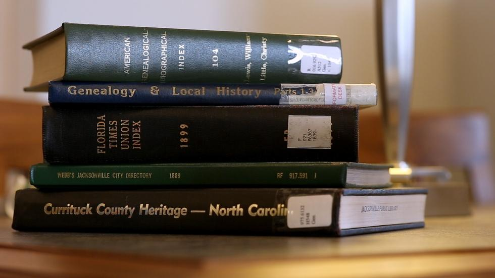 Finding Your Roots - Jacksonville Public Library image