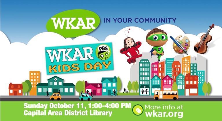 In Your Community: WKAR PBS Kids Day