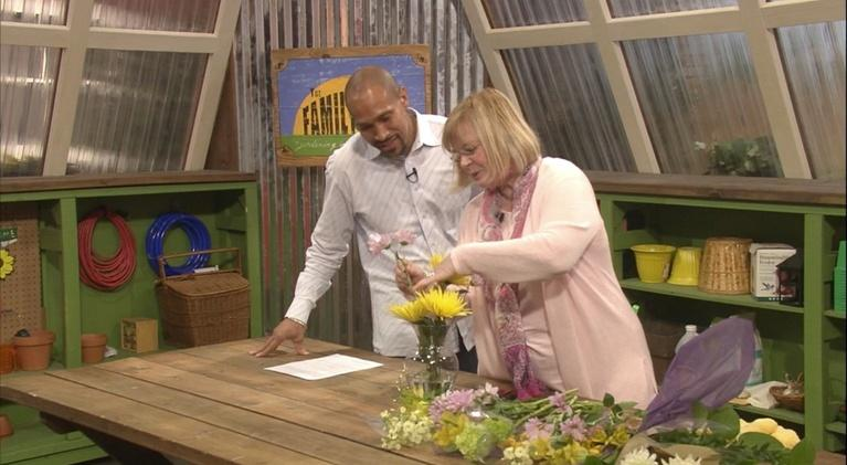 The Family Plot: Flower Arranging and Container Planting