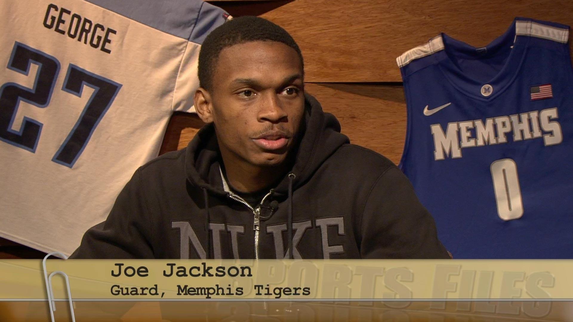 outlet store 0ba81 0f49e Joe Jackson - Guard for The University of Memphis Tigers ...