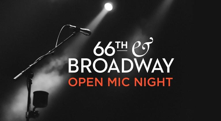 """66th and Broadway: """"NEW YORK STORIES"""" Open Mic Night"""