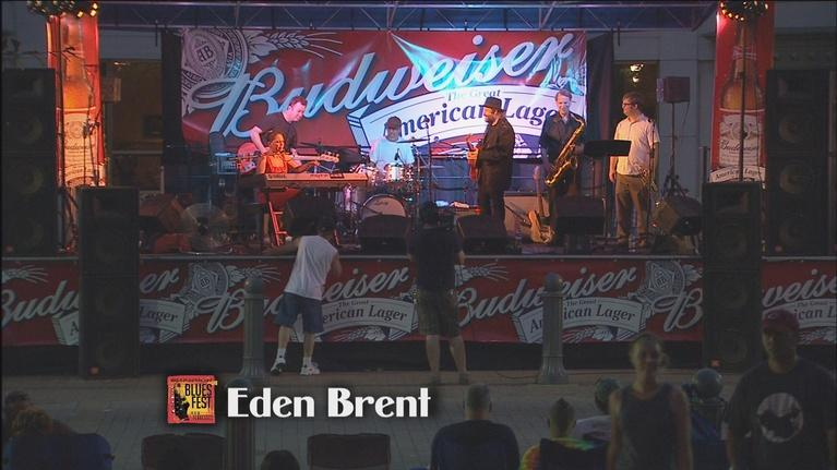 Shannon Street Blues Fest: Eden Brent (2 of 2)