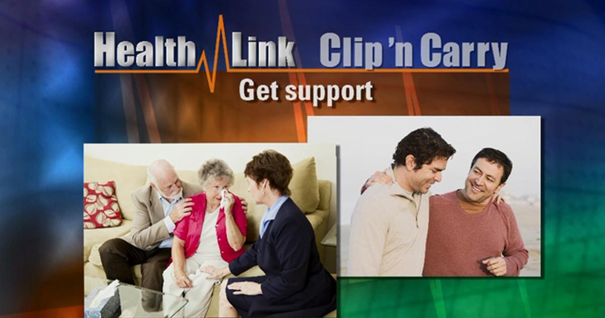 Clip N' Carry | Coping with Grief | Health Link | UNC-TV