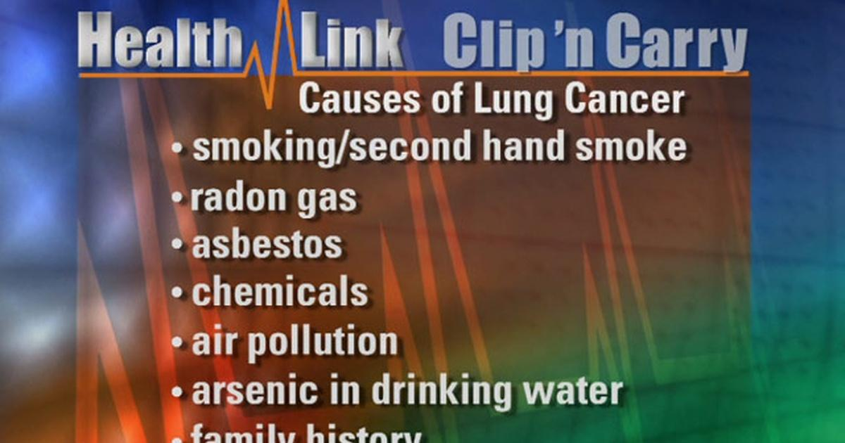 Clip N' Carry | Lung Cancer | Health Link | UNC-TV