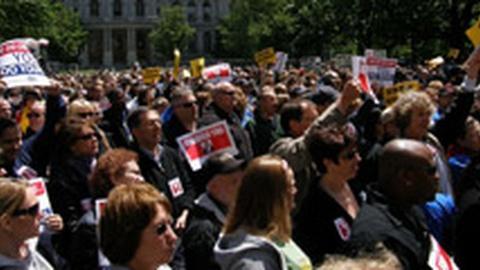 Unions Decry Furloughs