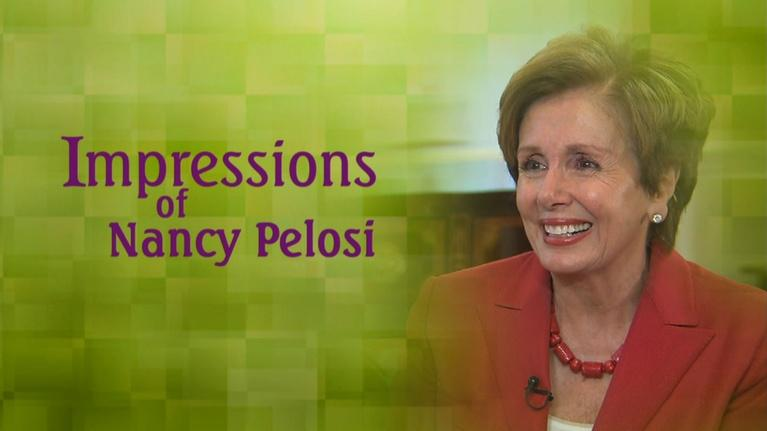 Impressions with Rhea Feikin: Impressions of Nancy Pelosi with Rhea Feikin