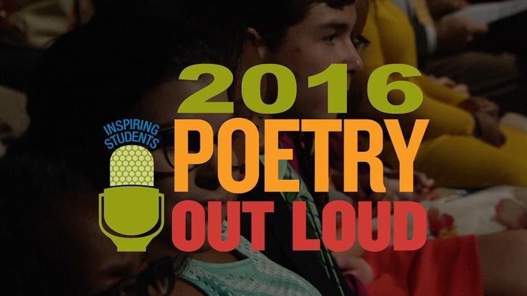 Poetry Out Loud: Mississippi 2016 Poetry Out Loud Recitation Contest