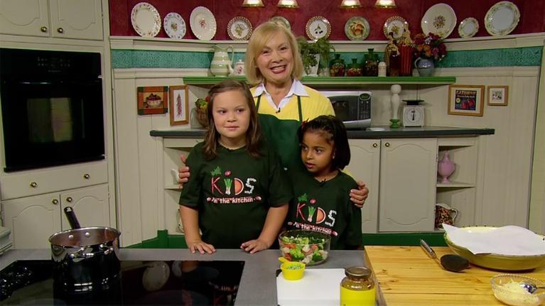 Kids in the Kitchen: Kids in the Kitchen: Tortellini Vegetable Toss