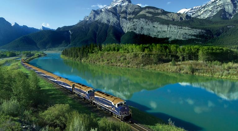 WNED-TV Documentaries: The Canadian Rockies by Rail Regional Broadcast