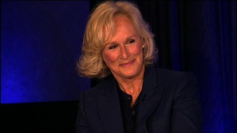 At the Paley Center -- Glenn Close