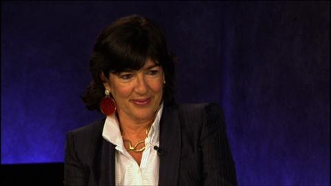 At the Paley Center -- Christiane Amanpour