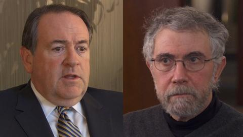 Paul Krugman vs. Mike Huckabee on the Role of Government