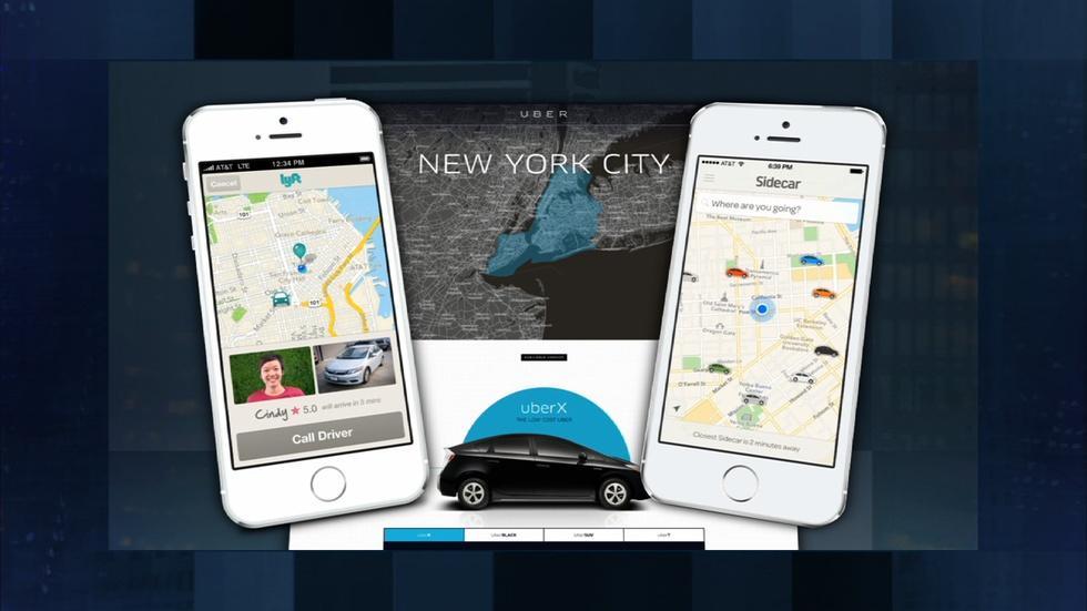 """Technology Creates the """"Sharing Economy"""" image"""