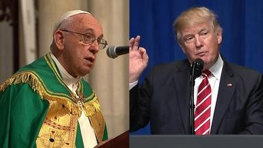 THE PRESIDENT & THE POPE