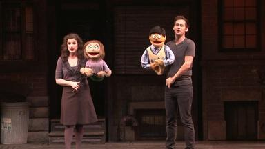 "BACKSTAGE AT ""AVENUE Q"""