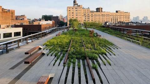 July 10: NYC parks, Bridges, The Village, Sandy Art