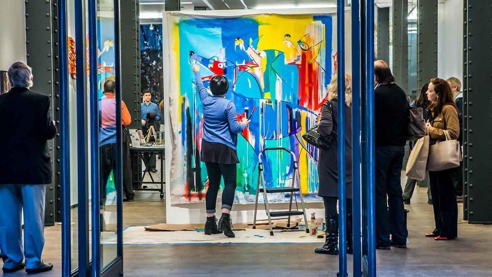 NYC-ARTS Profile: Pen + Brush image