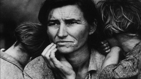 USA: Photography – Dorothea Lange: Under the Trees