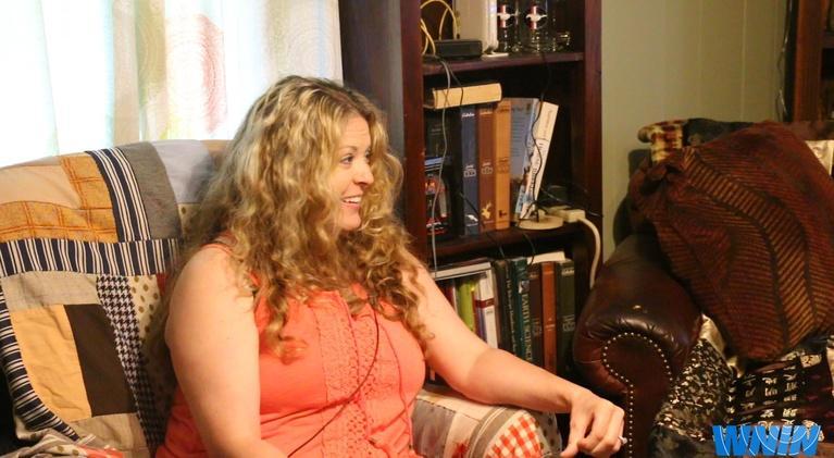 WNIN Local News: Sergeant Sally Saalman-Mosby Receives Hometown Support
