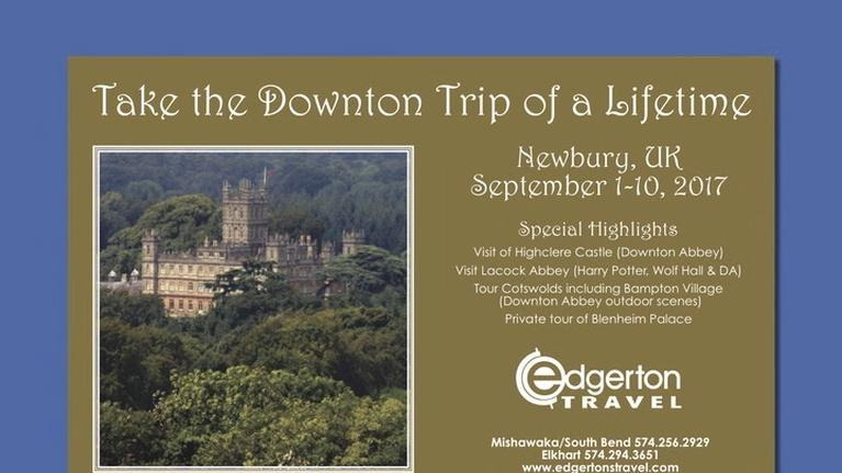 WNIT Specials: Edgerton Travel Downton Abbey Experience 2017
