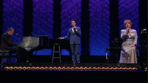 KT Sullivan and Jeff Harnar sing a Sondheim Medley