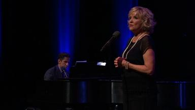 Seth Rudetsky and Christine Ebersole