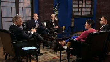 The panel discusses the need to strengthen STEM programs