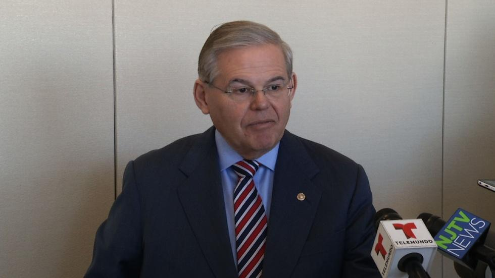Menendez Denies Helping Men in Exchange for Contributions image