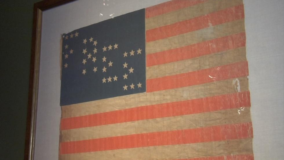 Twin Lights Museum Highlights American Flags Throughout Hist image
