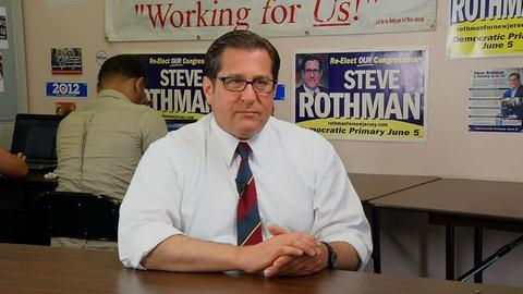 Congressional candidates Steve Rothman and Bill Pascrell