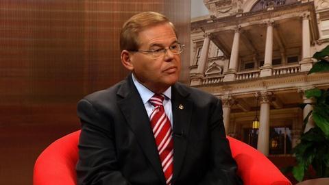 Interviews with Sen Bob Menendez