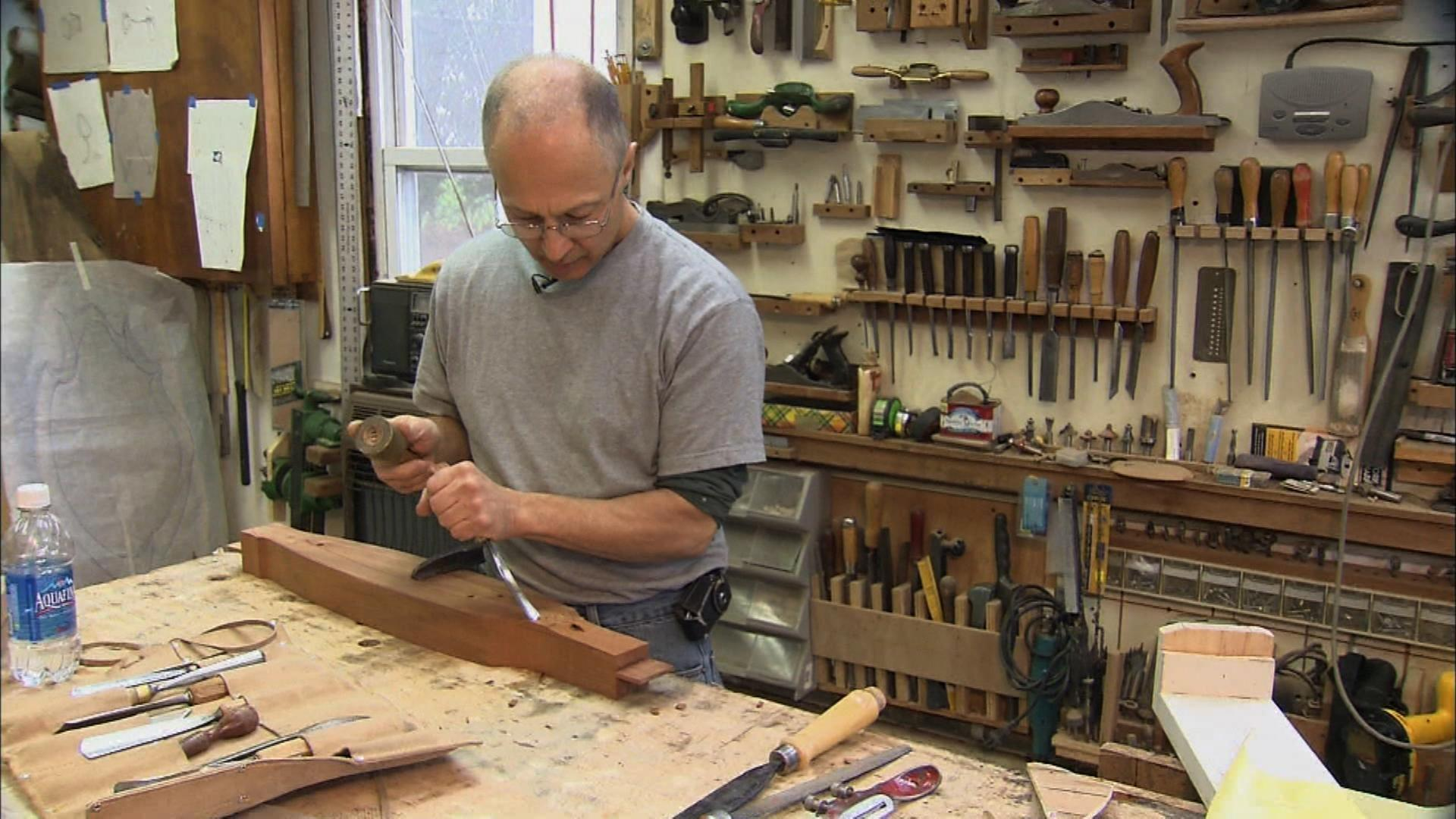 Glen Guarino, Woodworker | State of the Arts | Video | NJTV