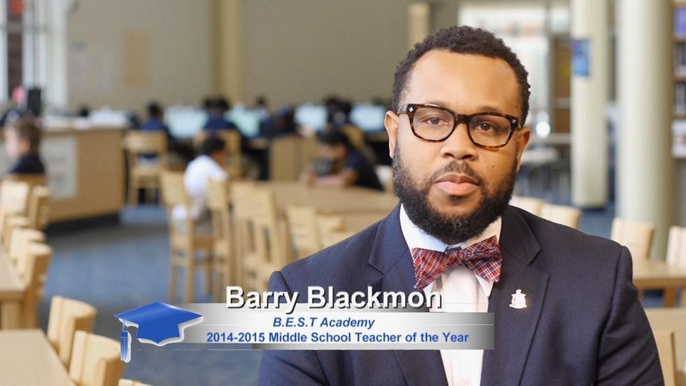 Barry Blackmon: B.E.S.T. Academy image