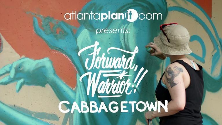 Atlanta PlanIt: Atlanta Public Art: Forward Warrior