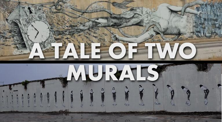 PBA Documentaries: A Tale of Two Murals