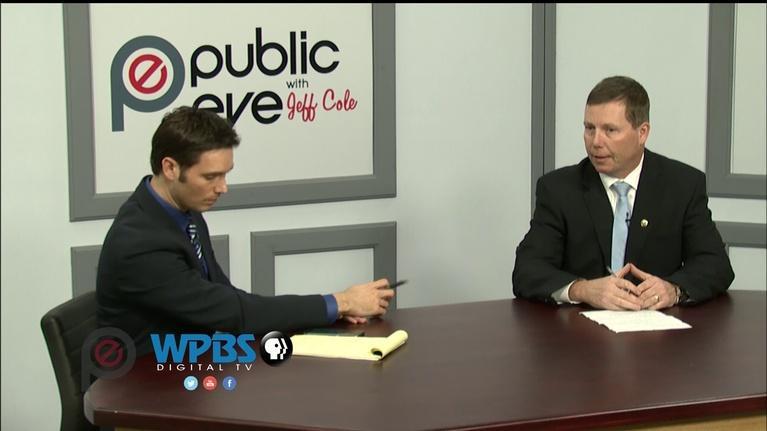 Public Eye with Jeff Cole: Public Eye - Mayor Joe Butler