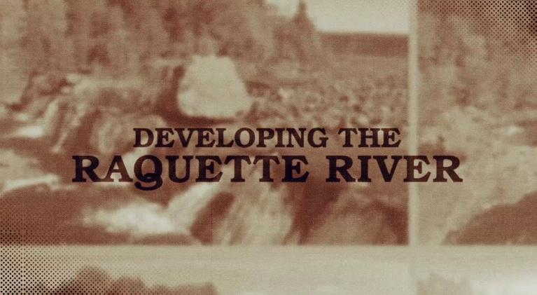Raquette River Experience: Developing The Raquette River Experience