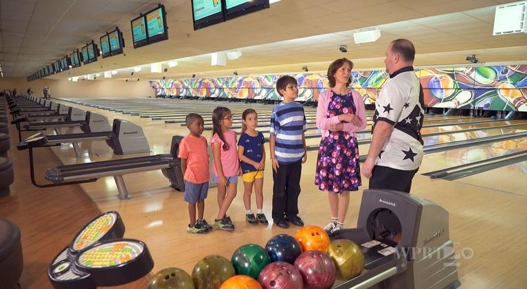 KidVision Pre-K:  Bowling