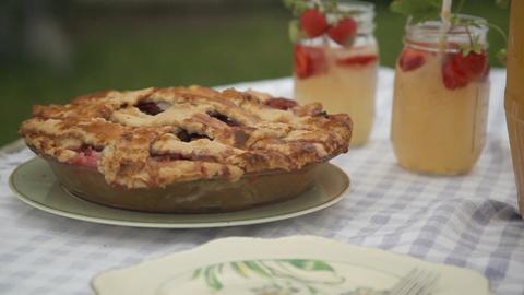 Around the Farm Table -- Switchel Brew and Pie