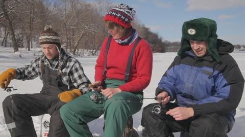 Around the Farm Table -- Ice Fishing