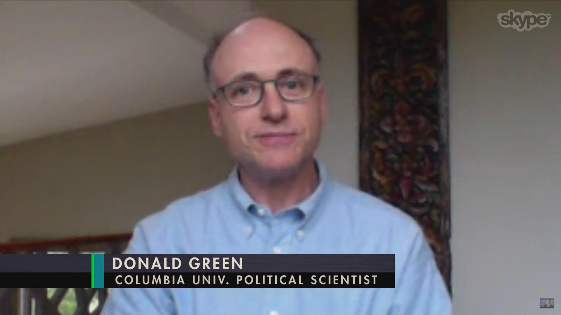 Professor Donald Green Discusses Voter Turnout
