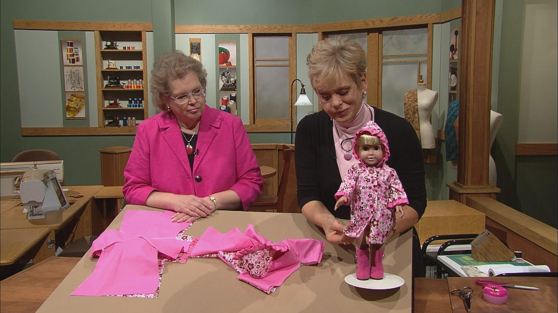Doll fashion studio part 1 sewing with nancy pbs jeuxipadfo Image collections