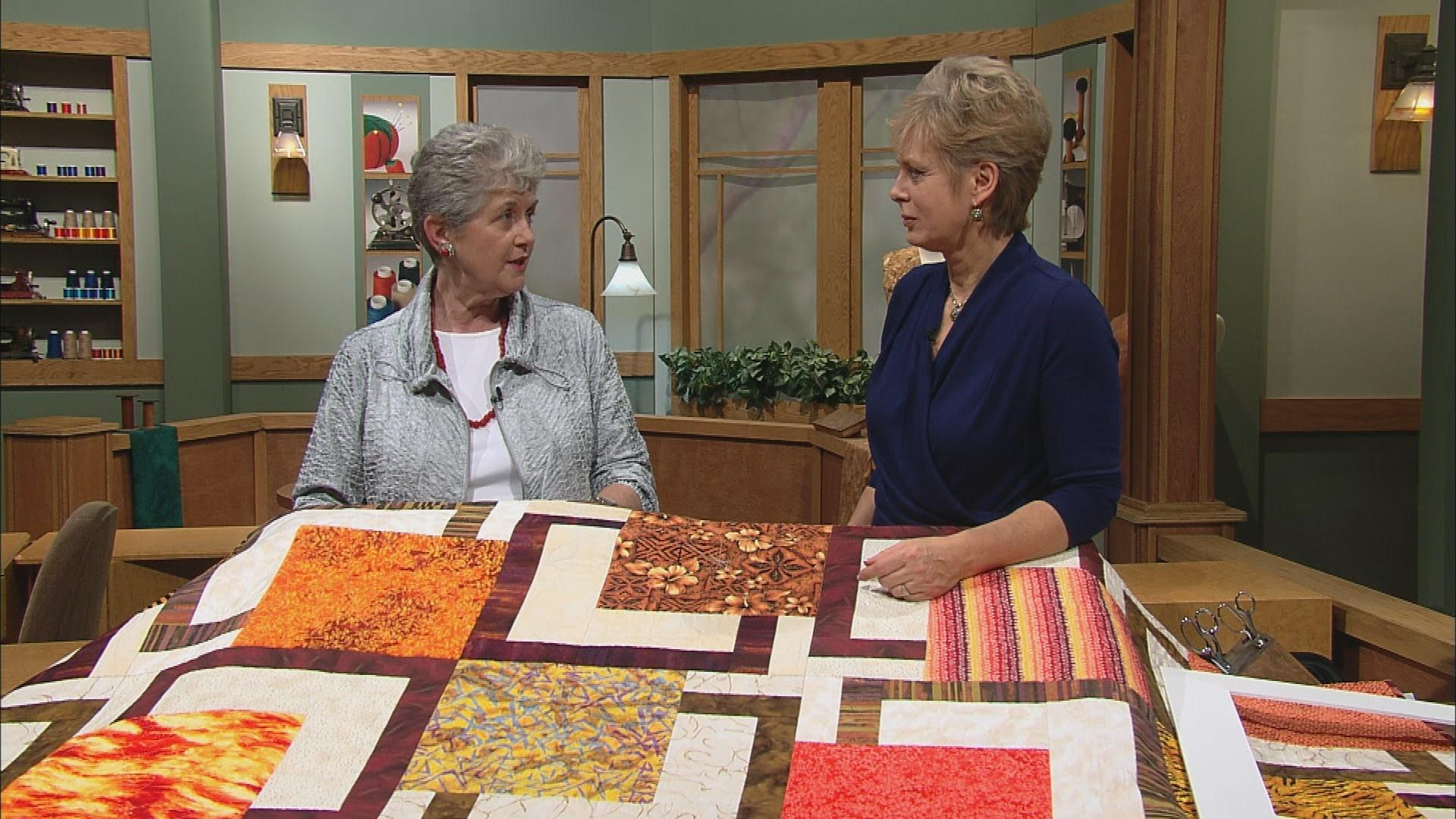 Video sew big quilt blocks part 1 watch sewing with nancy video sew big quilt blocks part 1 watch sewing with nancy online wisconsin public television video jeuxipadfo Image collections