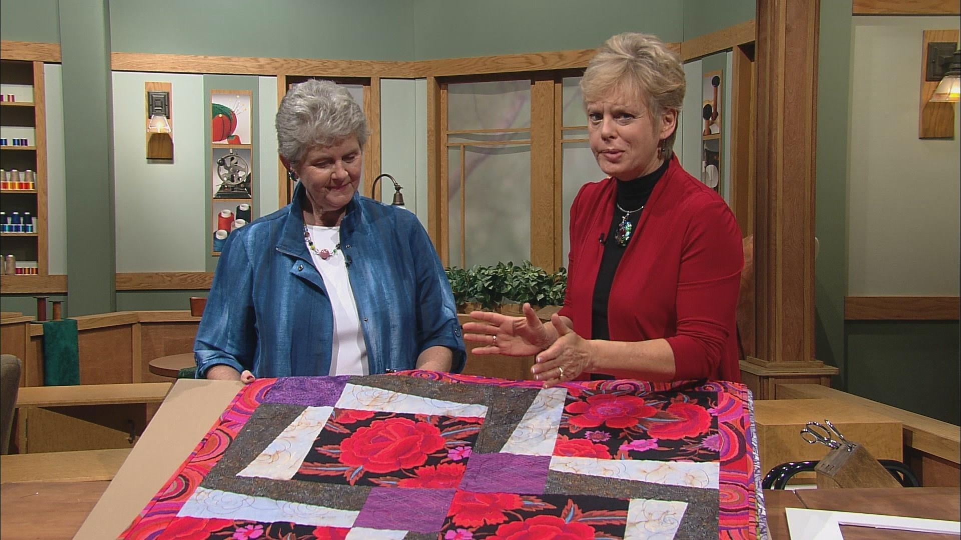 Video: Sew Big Quilt Blocks, Part 2   Watch Sewing With Nancy ... : sew big quilt blocks - Adamdwight.com