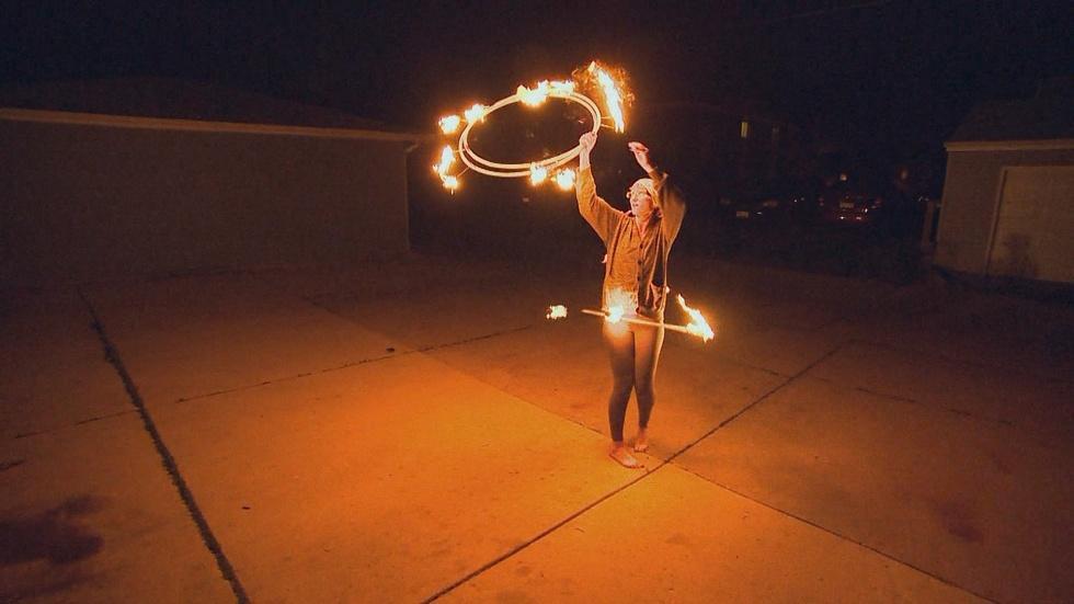 Fire Hooping image
