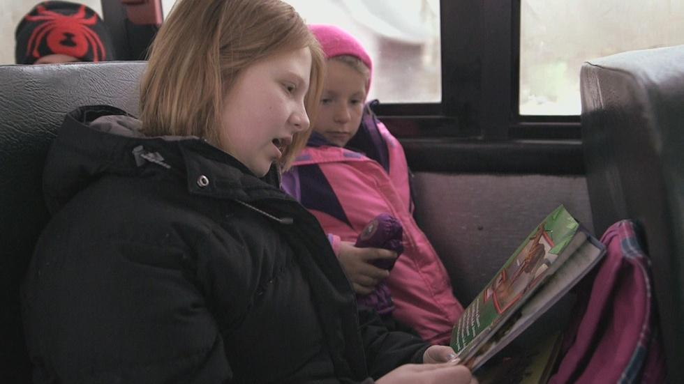 Books on the Bus image